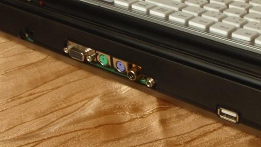 Hive im Tastaturgehäuse