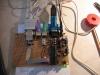 Nach kürzester Zeit ist schon Bellatrix in Betrieb. Das erste Lebenszeichen - eine blinkende Heartbeat-LED.
