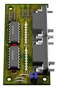 Joystick-Minikarte